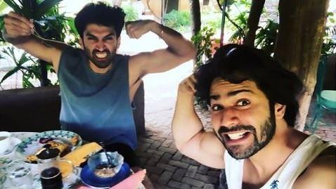 Watch Varun Dhawan Convince Aditya Roy Kapur to Join Instagram