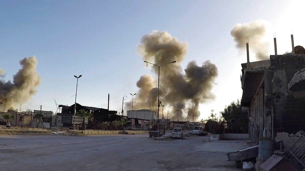 US-led Coalition Using White Phosphorus Bombs in Syria: Russia