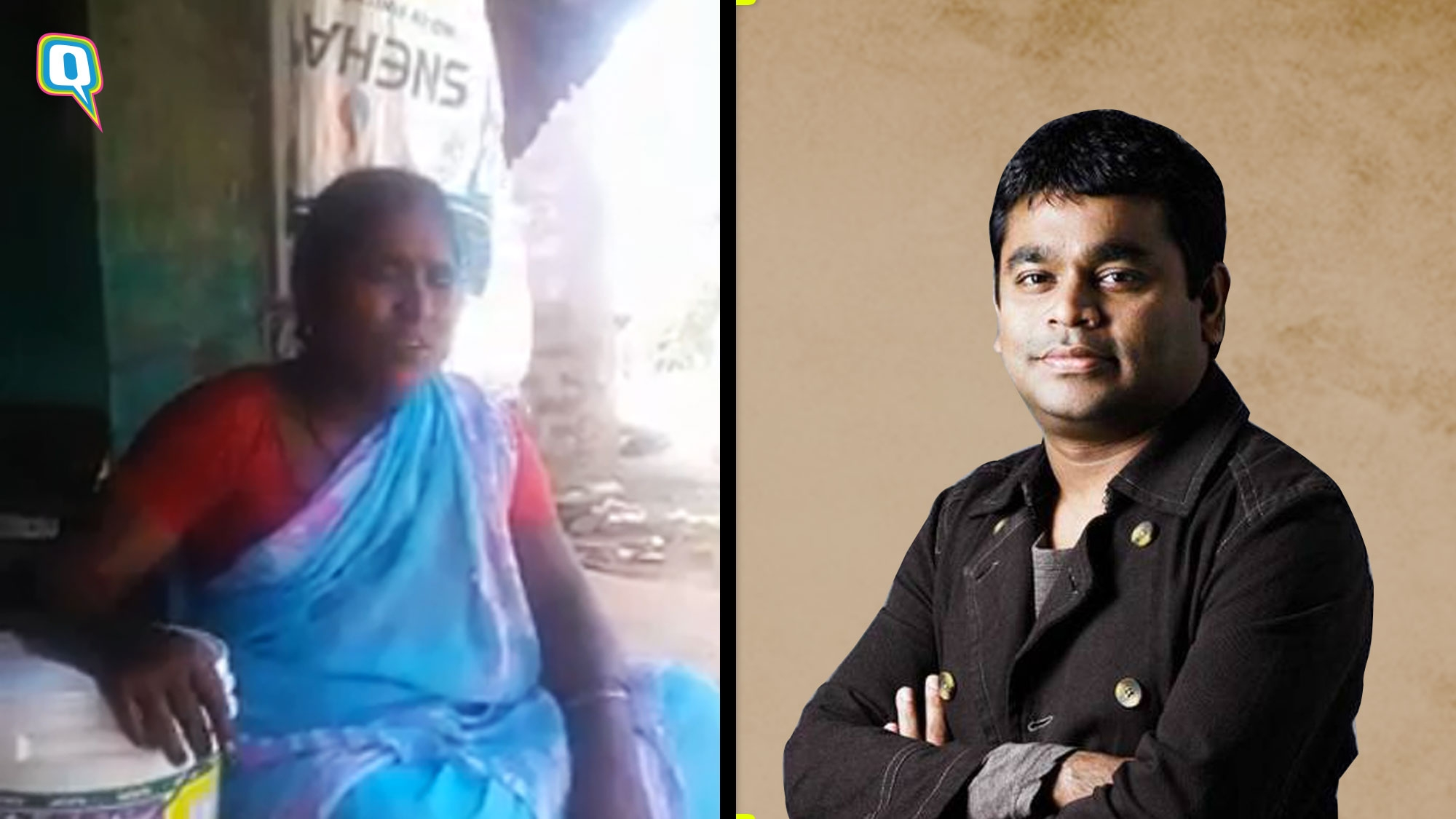 A.R Rahman Posts an 'Unknown, Beautiful Voice' In a Blue Saree