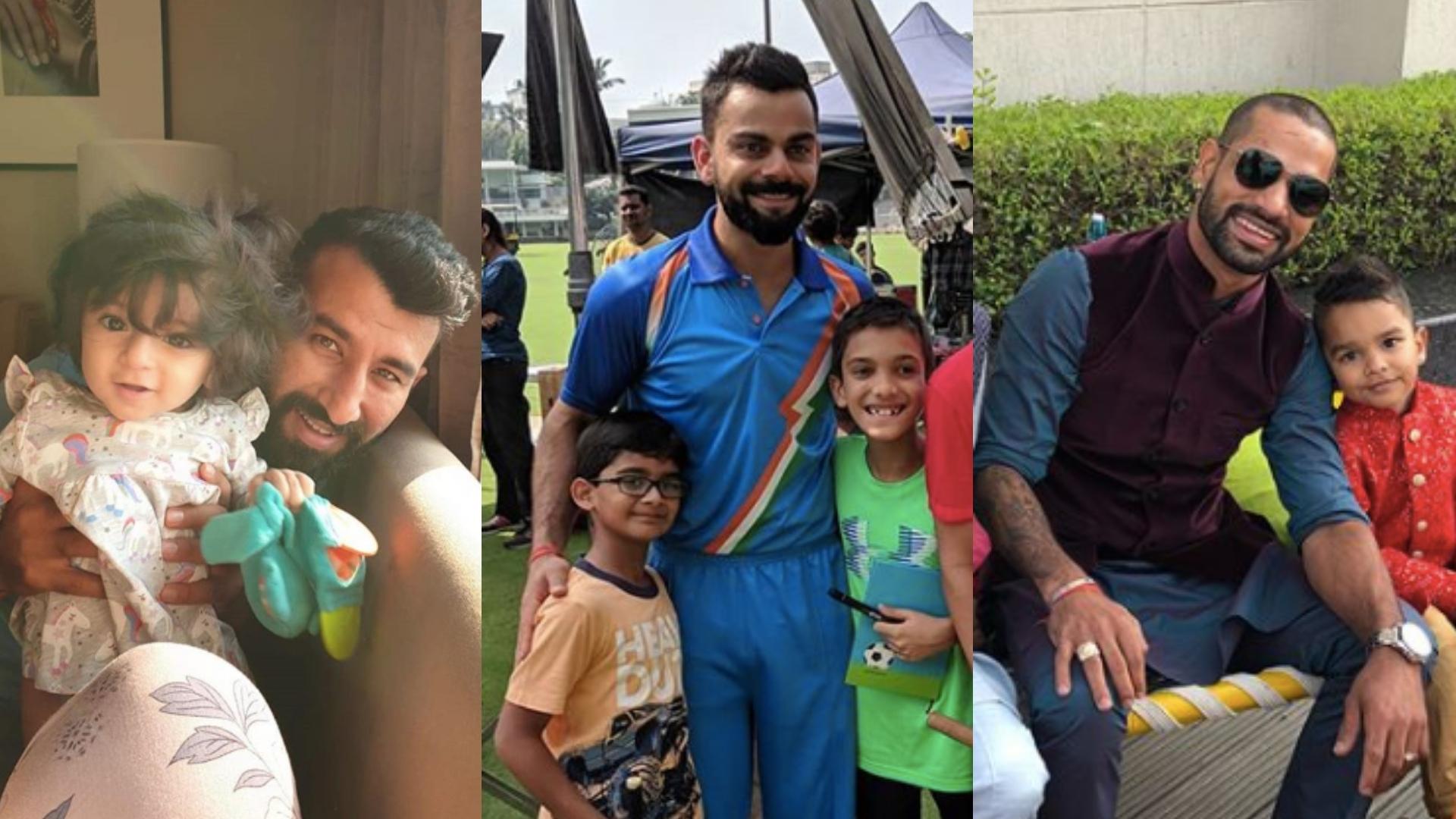 Ziva Dhoni to Zoraver Dhawan: Team India Celebrate Children's Day