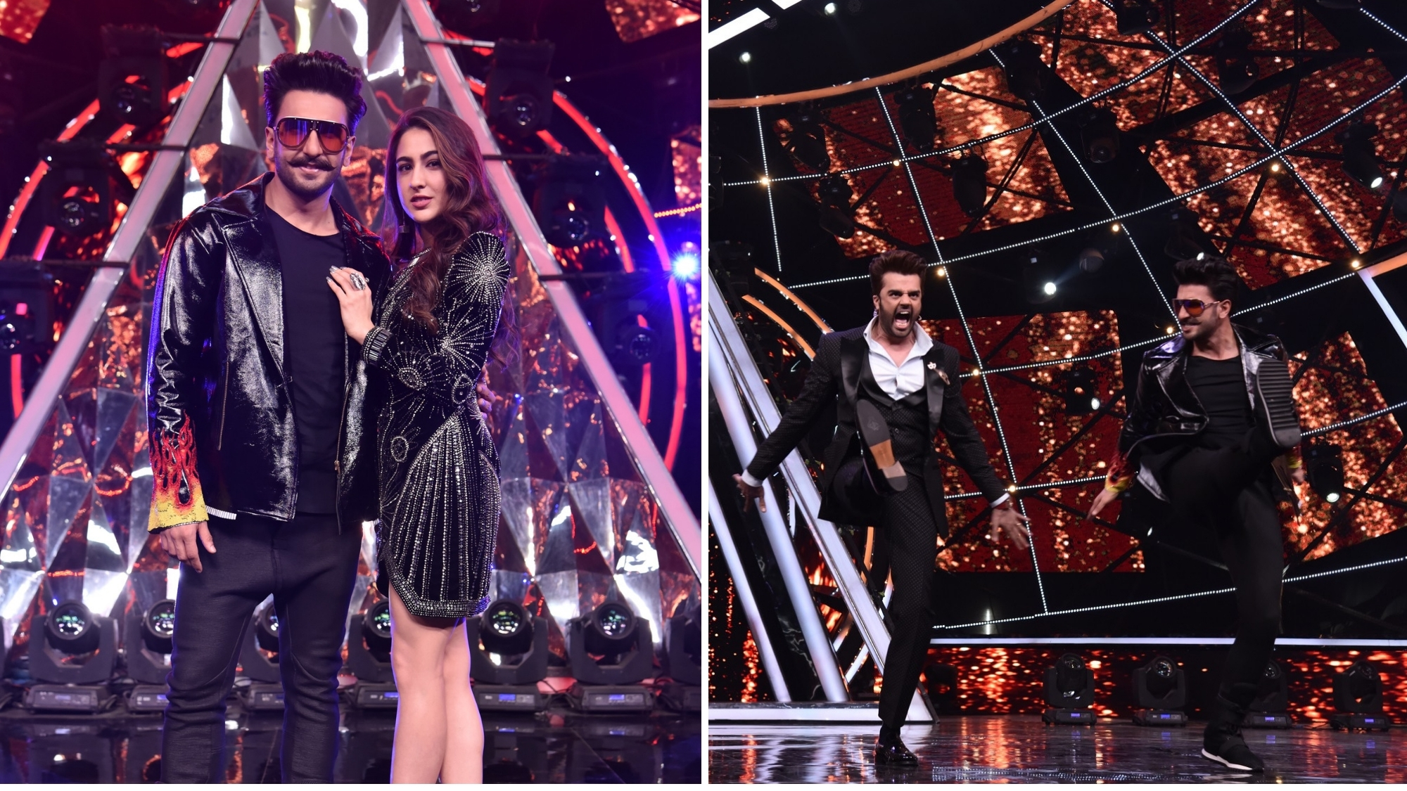 In Pics: Ranveer Singh Unleashes His Crazy on 'Indian Idol'