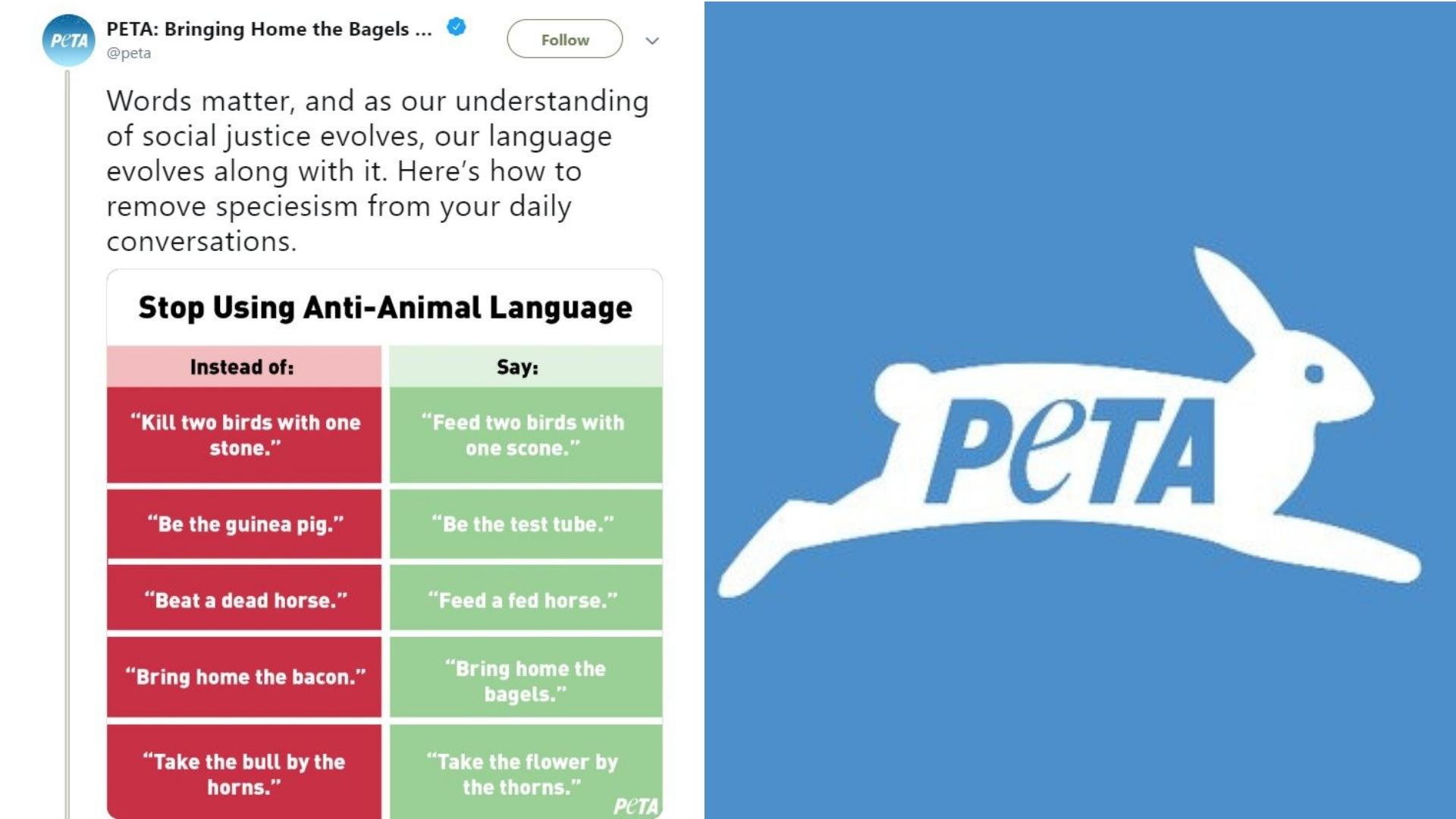 PETA Compares 'Speciesism' To Racism & Homophobia, Gets Ridiculed