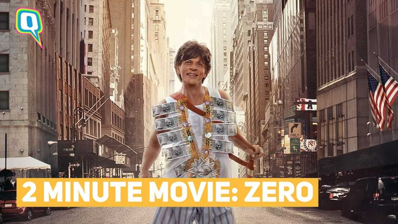 Watch Shah Rukh Khan's 'Zero' in 2 Minutes: An Honest Review