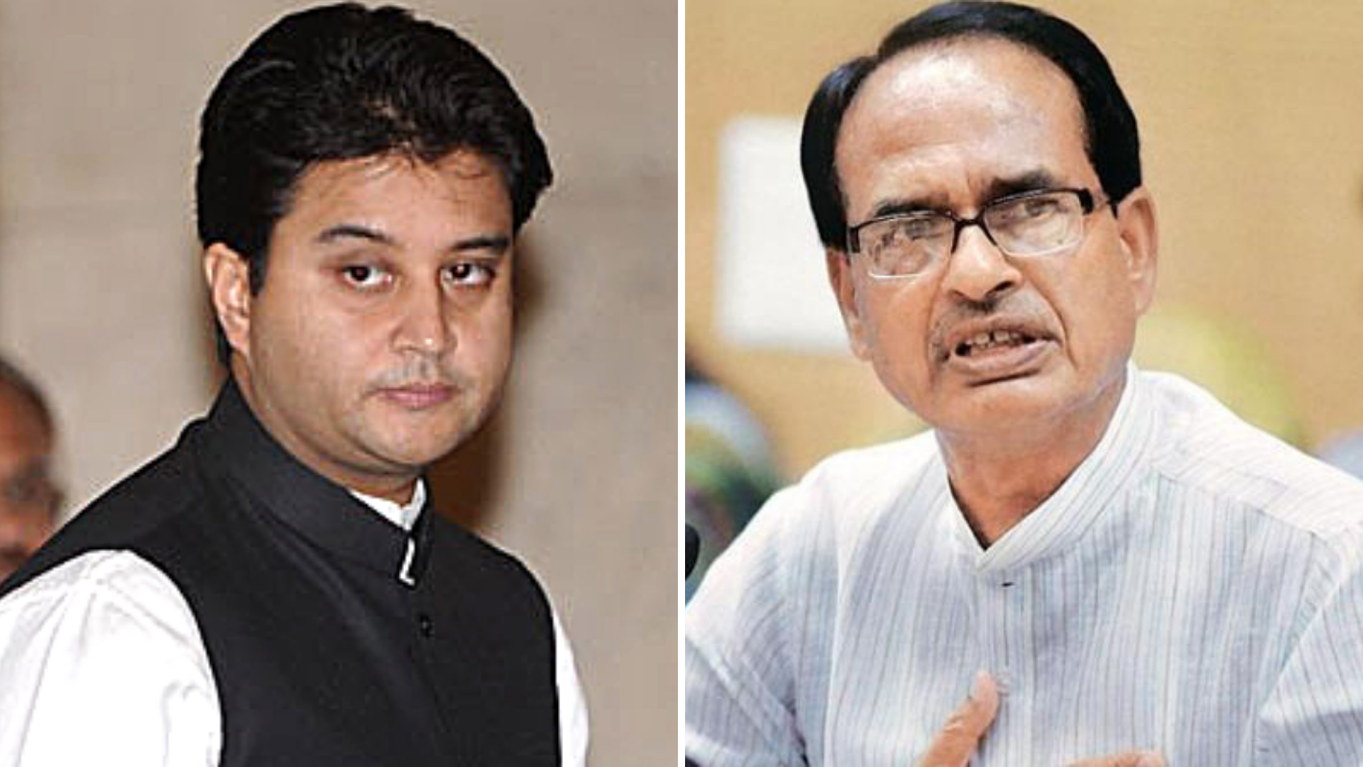Shivraj Singh, Scindia Hold a Closed-Door Meeting in Bhopal