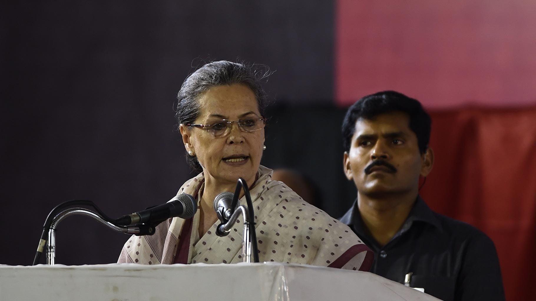 'LS Polls Important to Restore India's Faith in Democracy': Sonia