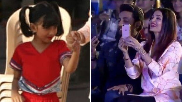 Abhishek & Aishwarya Bachchan Cheer as Aaradhya Performs at School