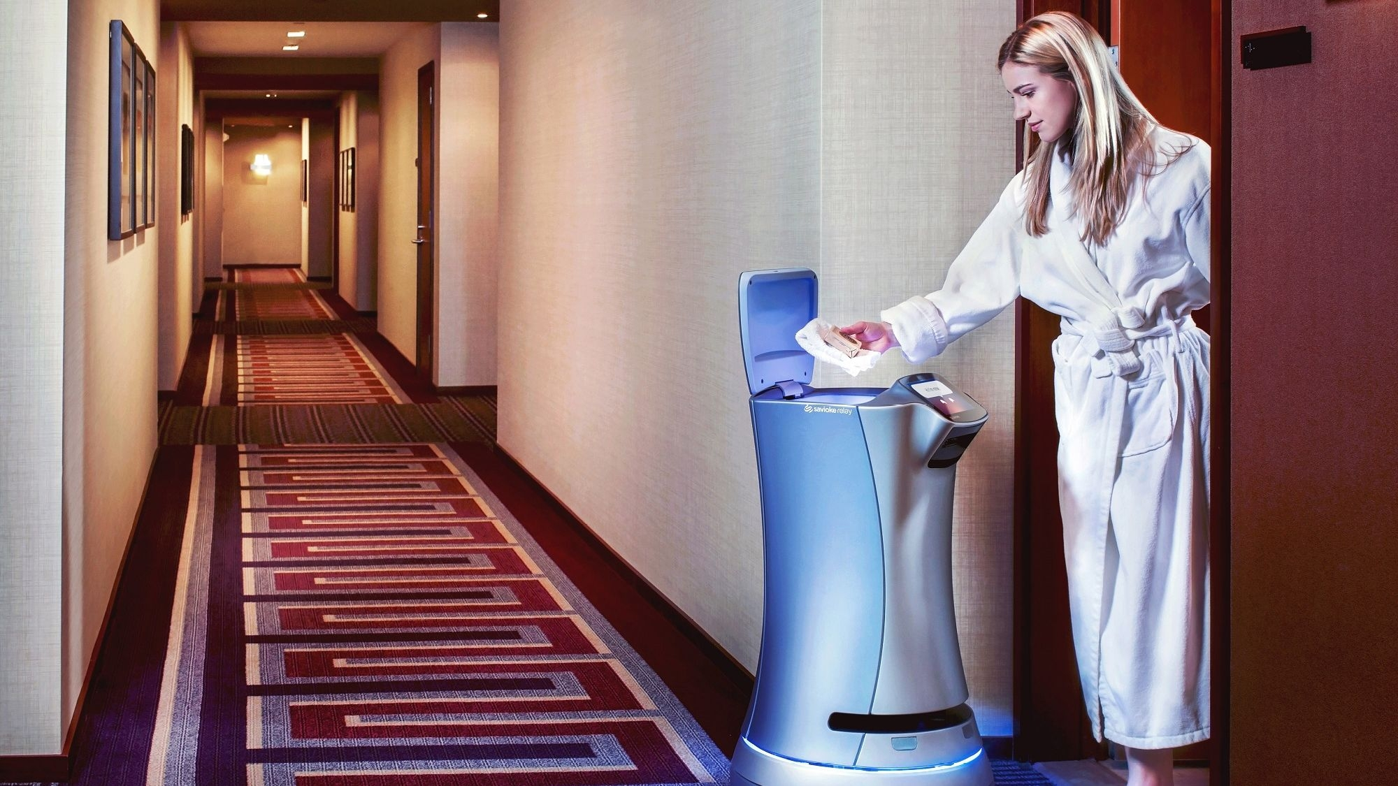 Robots Take Over Room-Service in Some Hotels, No Tips Expected