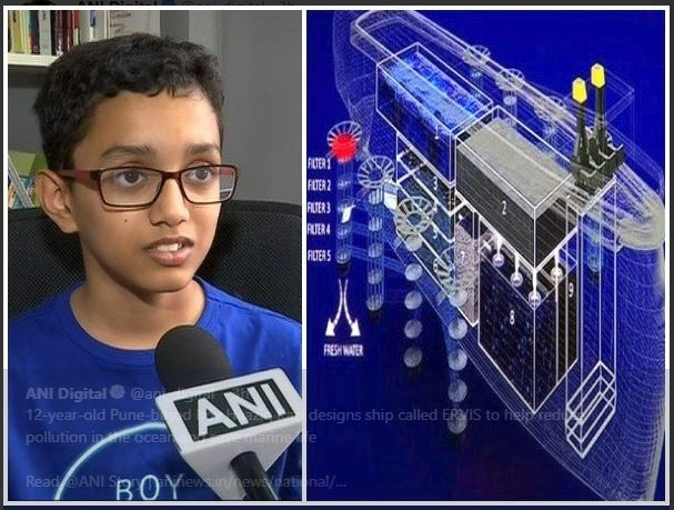 #GoodNews: 12-Year-Old Boy Designs Ship To Clean The Ocean
