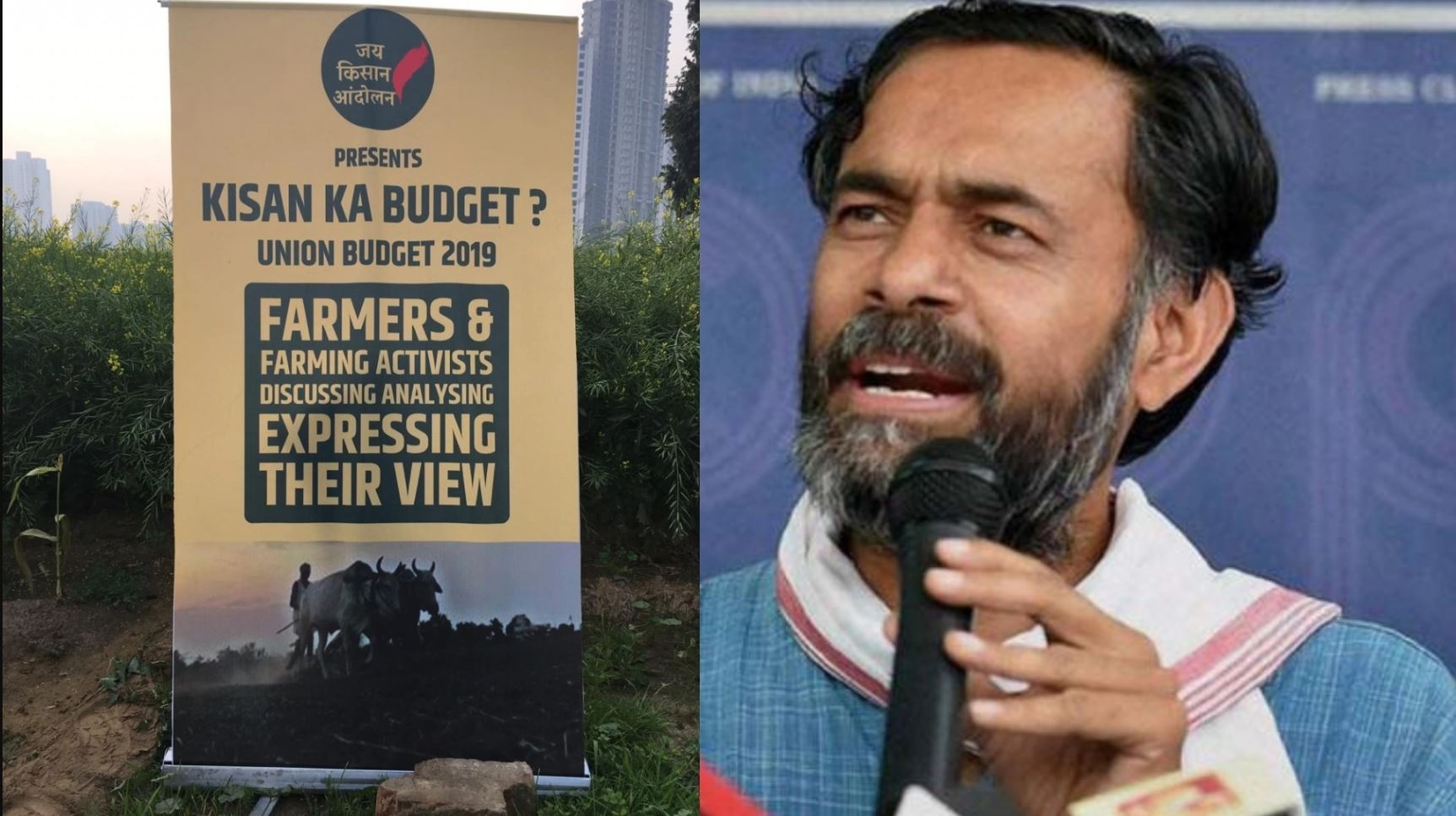 'Budget 2019 Rubs Salt in Farmers' Wounds': Yogendra Yadav