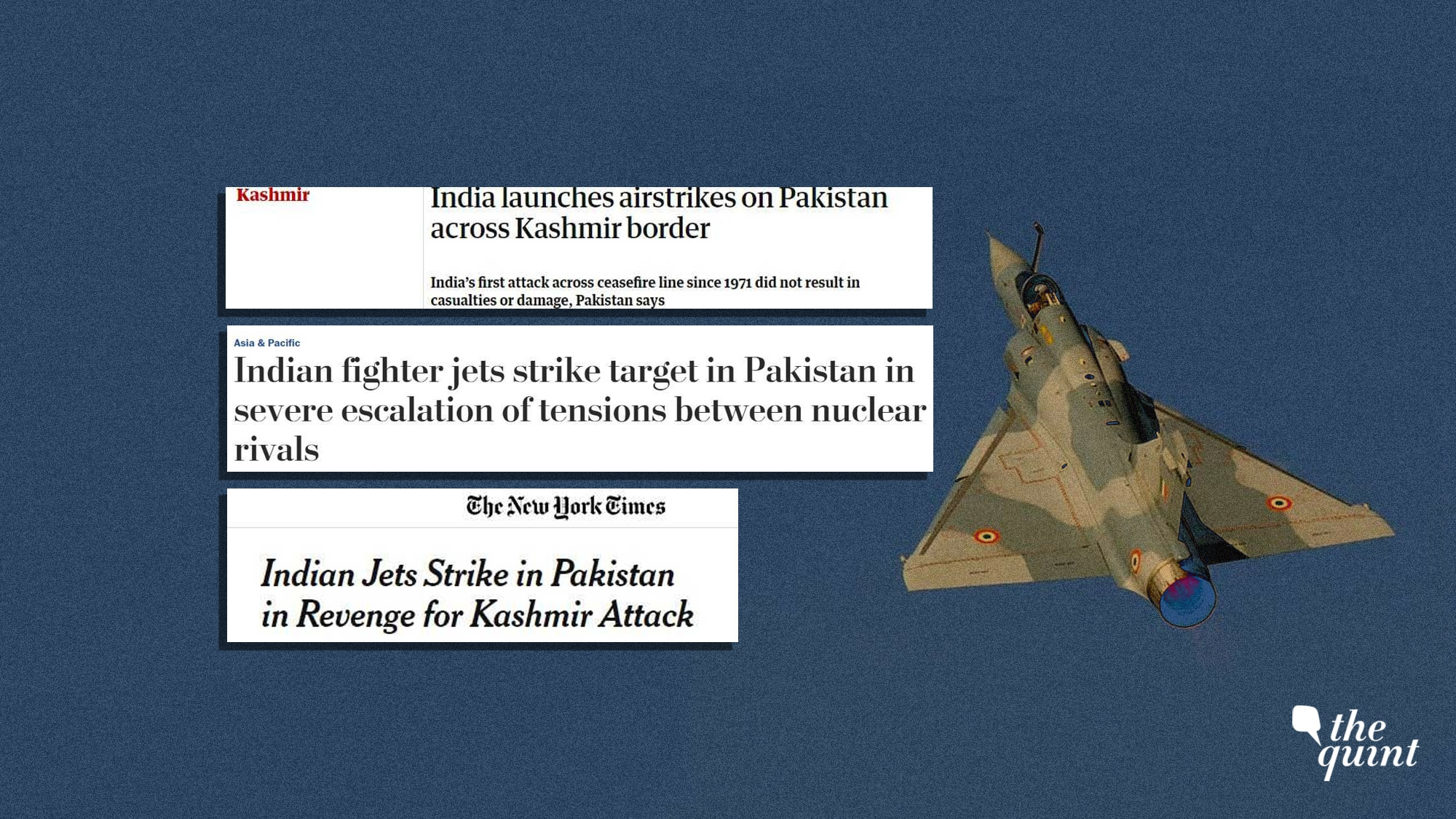 India-Pakistan: Here is how international media outlets