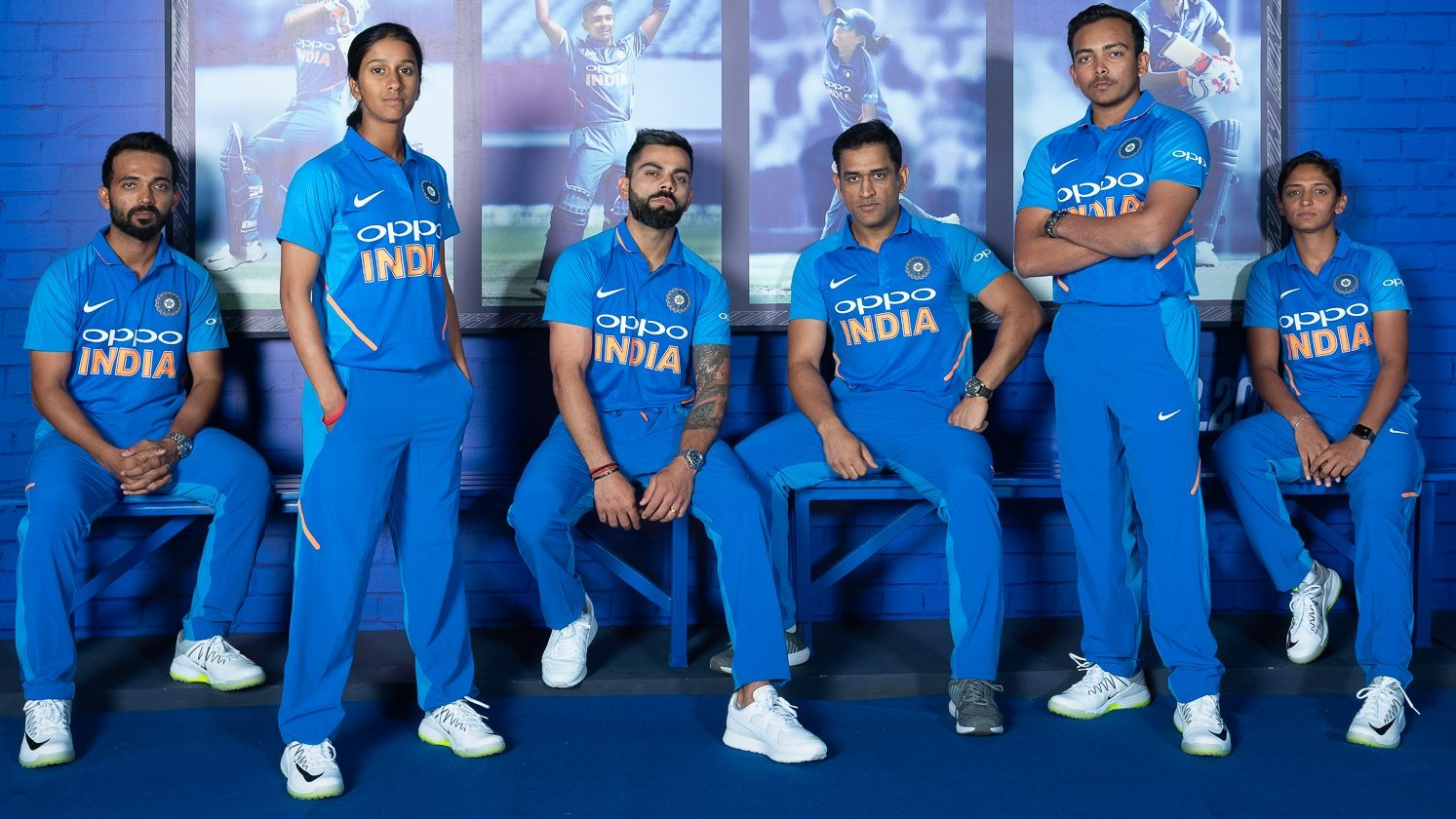 cf6251cc675 India World Cup 2019 New Jersey  Here s a Look at the Features of Team  India Jersey at Cricket World Cup