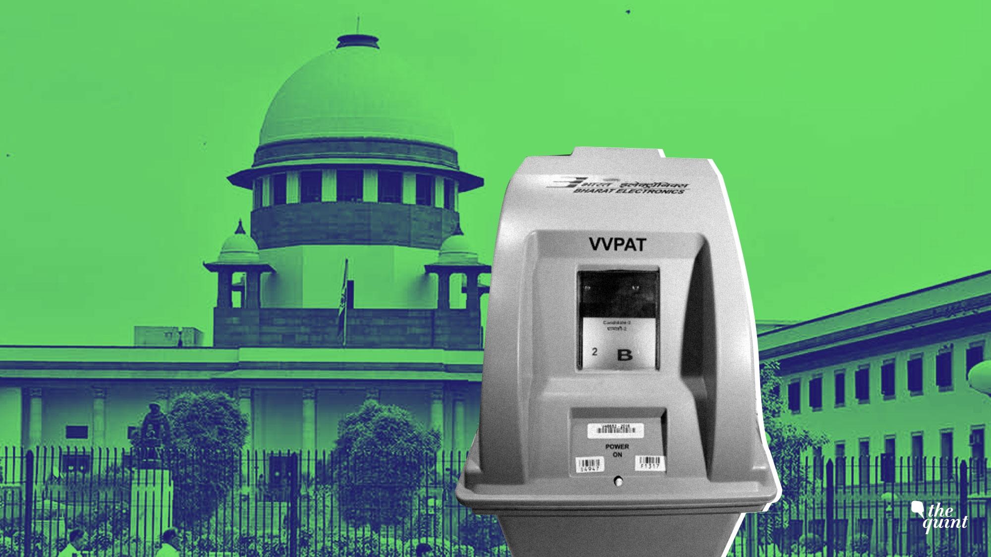 Supreme Court Order On VVPAT Verification: Door For
