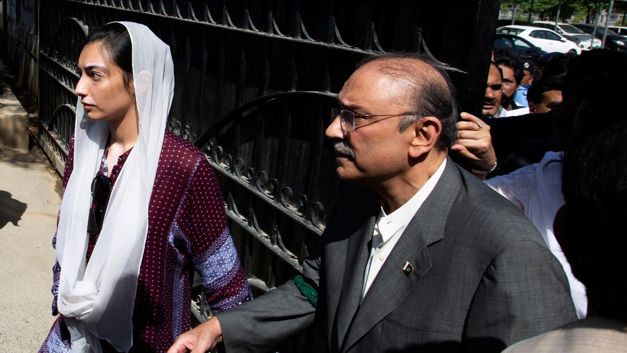 Ex-Pakistan President Zardari Arrested in Fake Bank Accounts Case