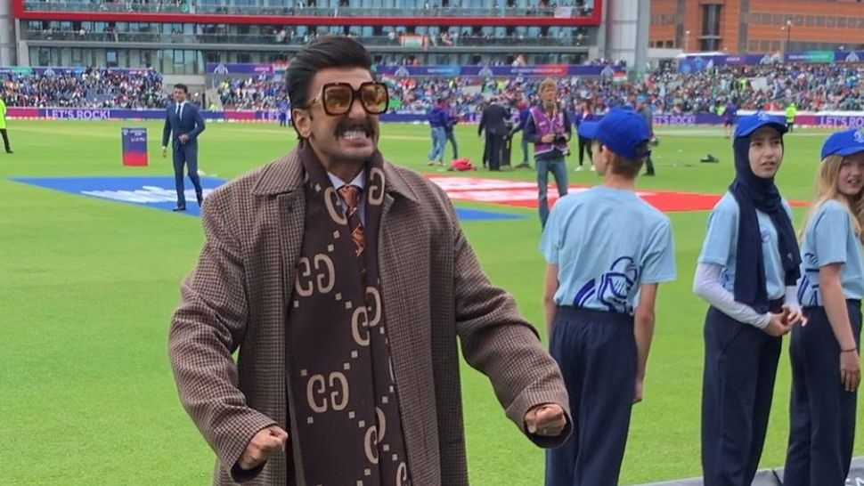 Celebrities Galore in Manchester for India-Pak World Cup Clash