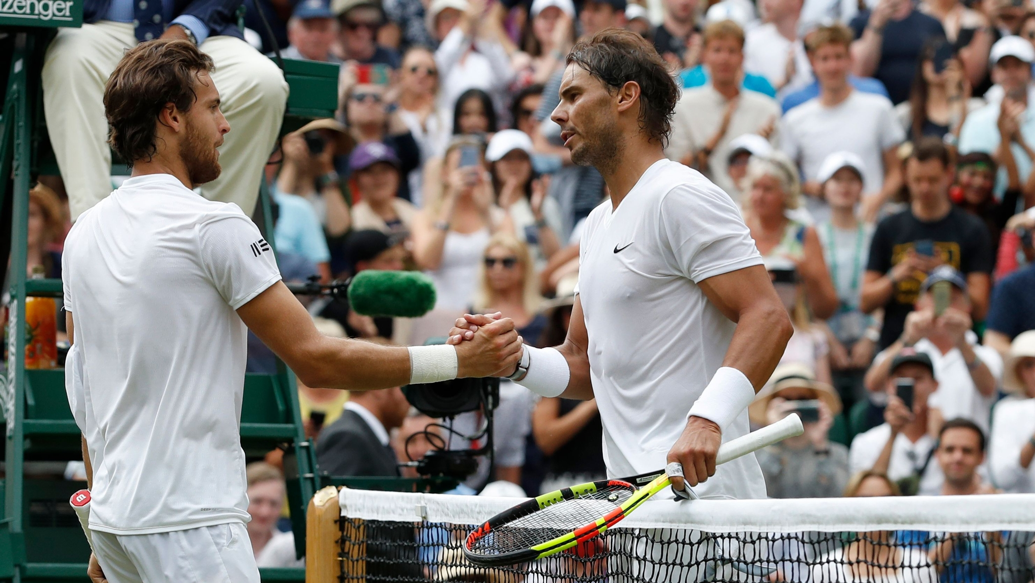 Nadal Leads Charge of Old Brigade into Wimbledon Quarter-Finals