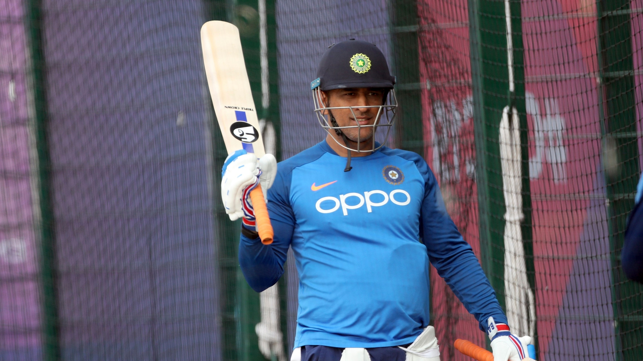 Dhoni's School Pumped Up for India-New Zealand Tie