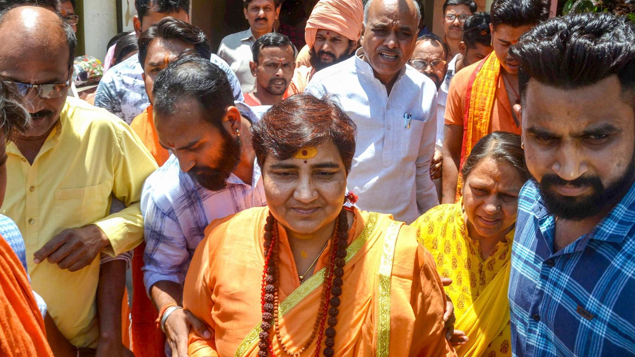 Pragya Thakur at It Again: 'Oppn Using Marak Shakti to Harm BJP'