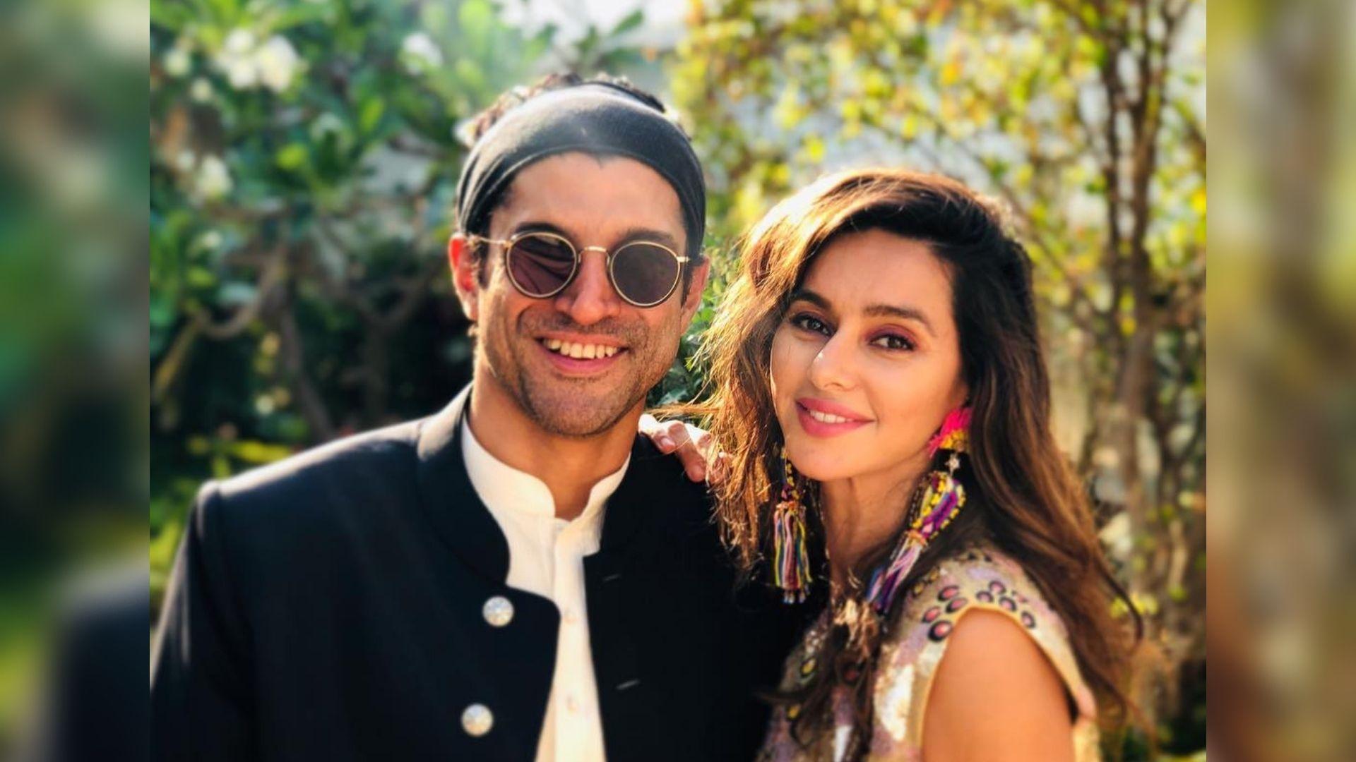 Farhan Akhtar Wishes 'Sunshine' Shibani Dandekar a Happy Birthday