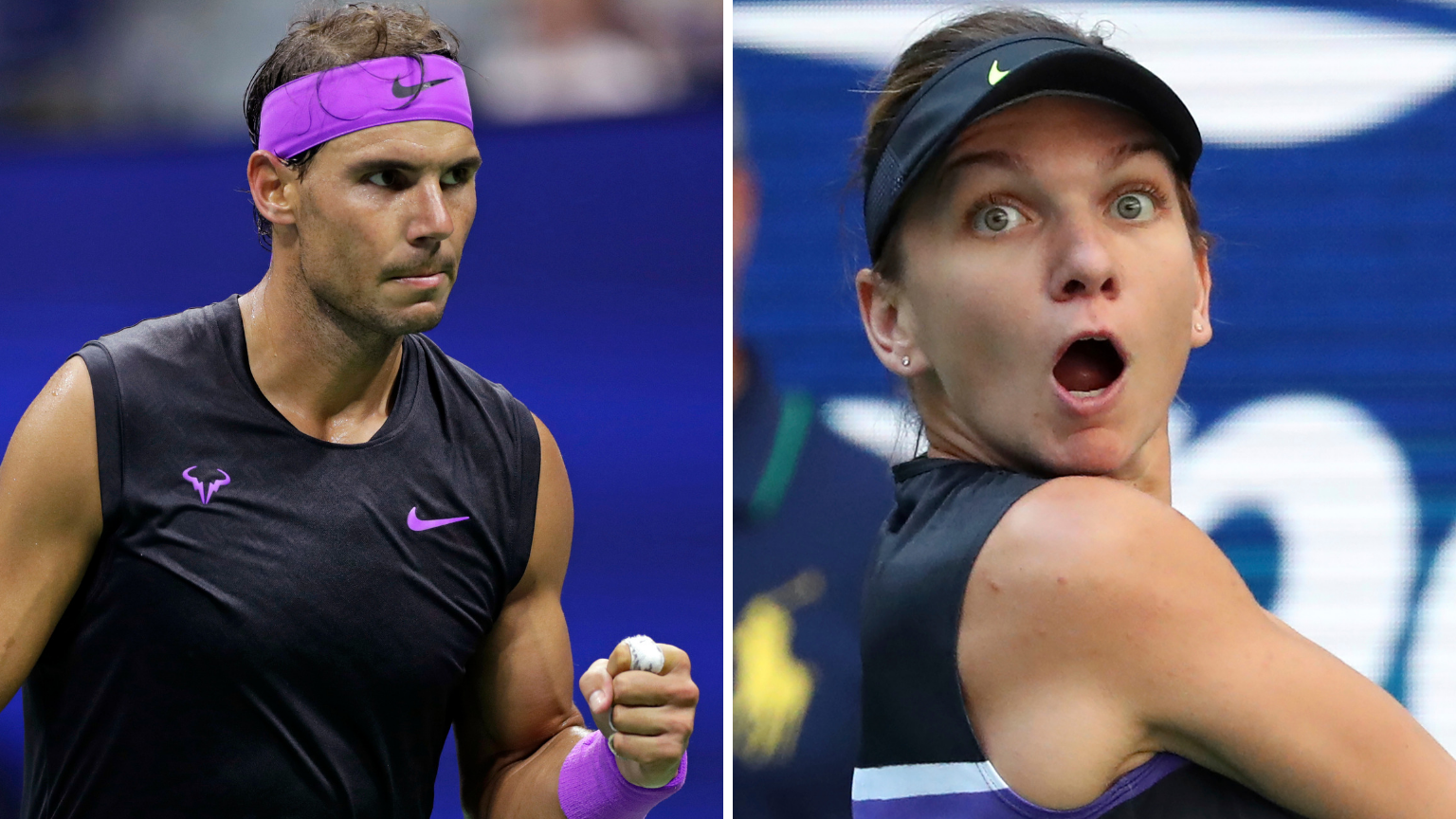 US Open: Nadal Gets Walkover, Halep Crashes Out