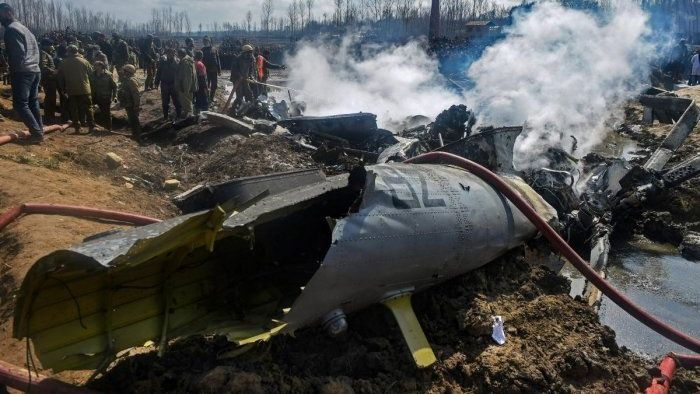 IAF Probe Finds 'Friendly Fire' Caused 27 Feb Budgam Chopper Crash
