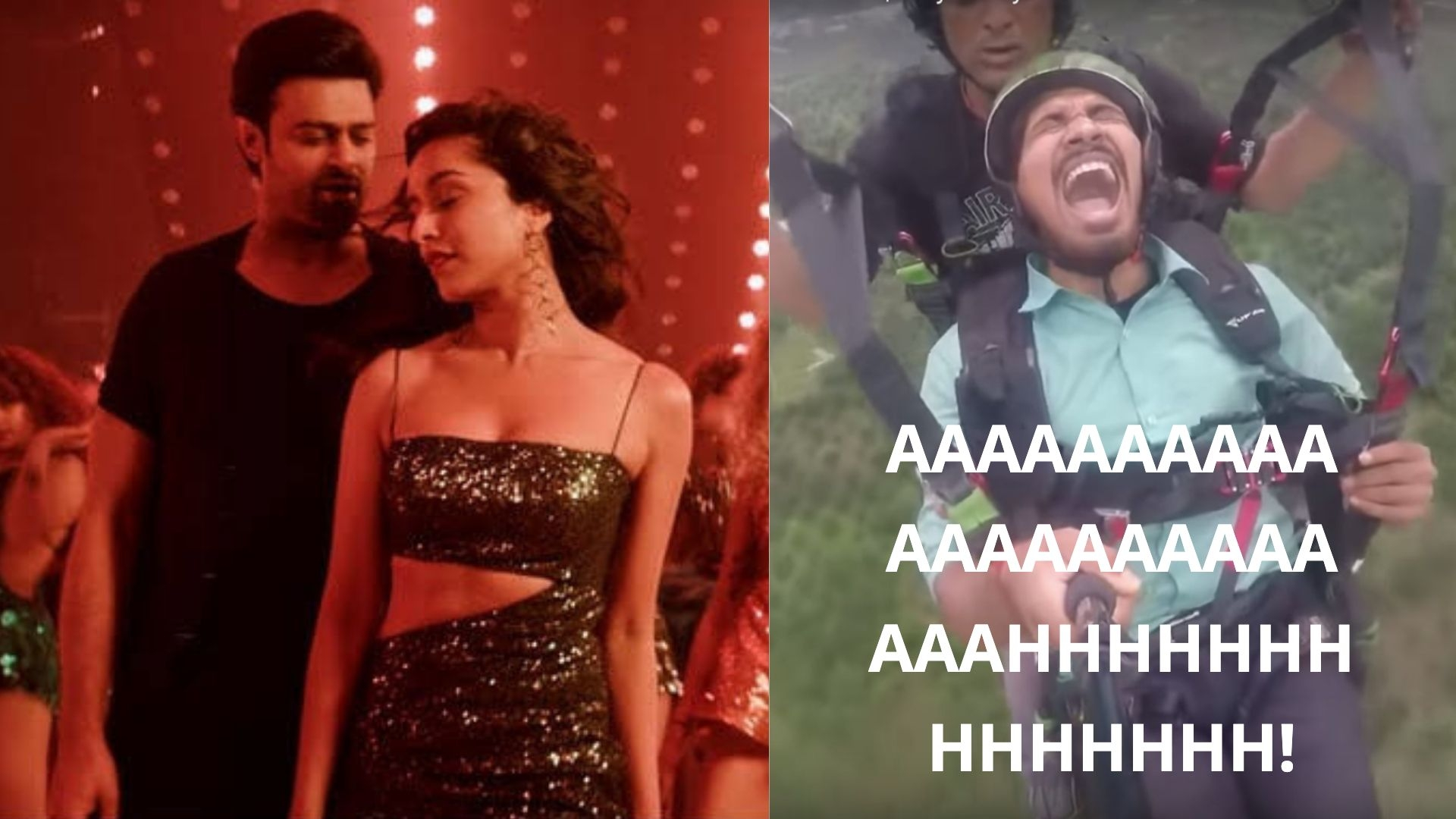 Review: Viral Paraglider Reacts to Prabhas - Shraddha's 'Saaho'
