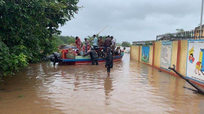 Heavy Rains Lash North K'taka Again, 13-Year-Old Gets Washed Away