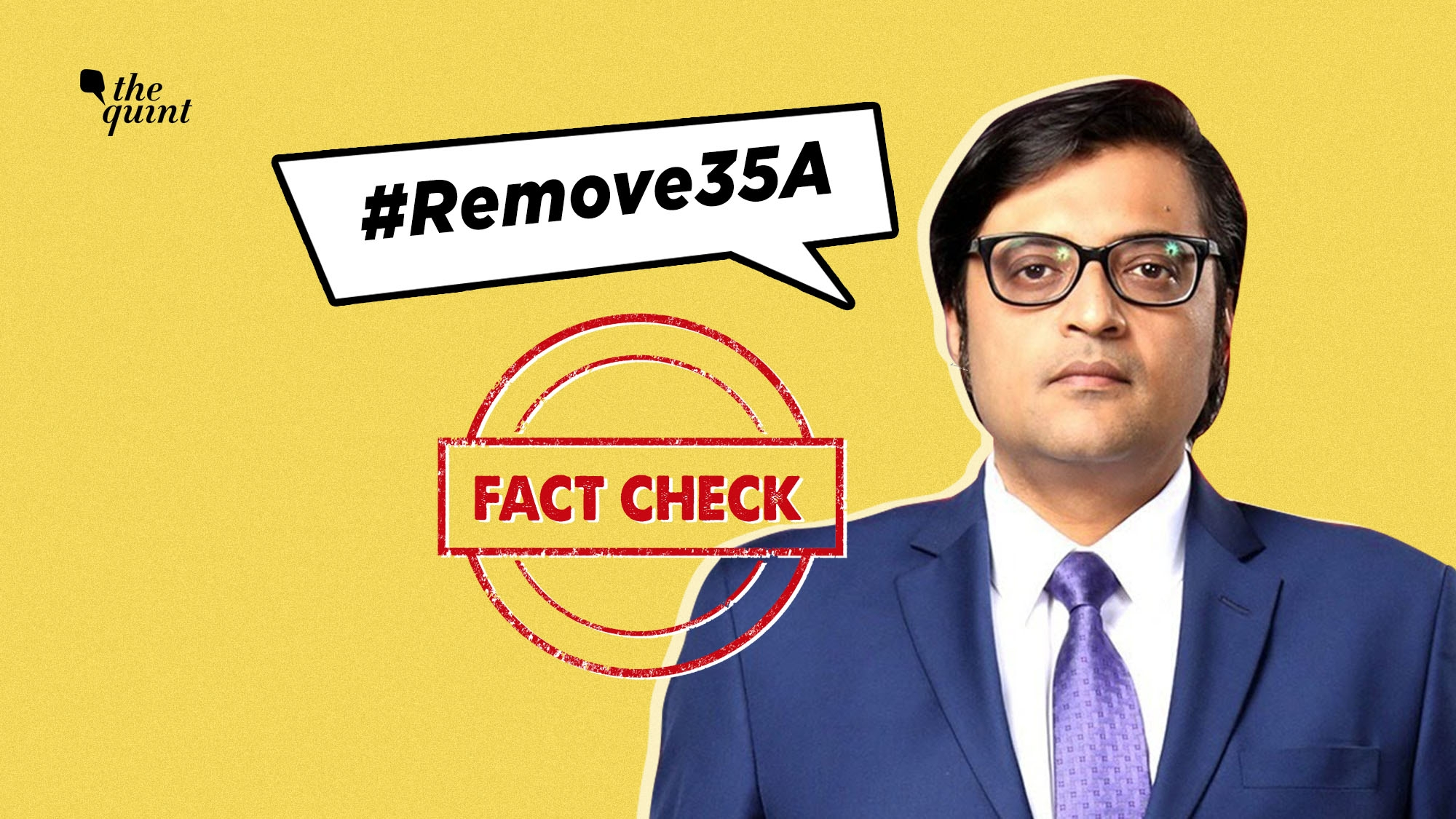 Is 35A Temporary and Discriminatory? Fact-Checking Arnab's Claims
