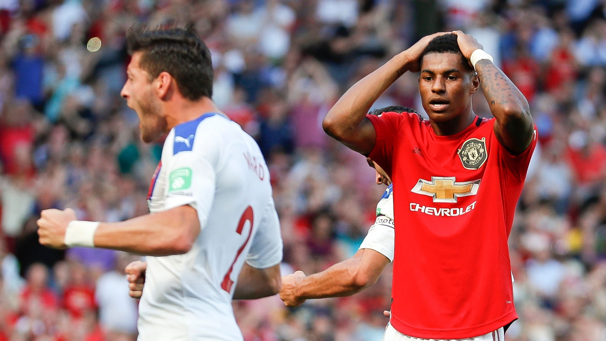 Manchester United Miss Another Penalty, Lose 1-2 to Crystal Palace