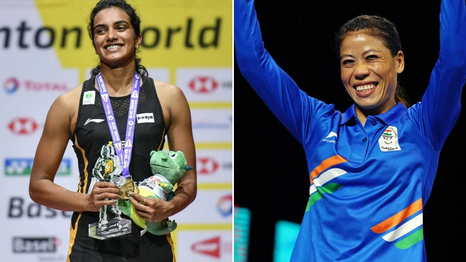 Mary Kom Recommended For Padma Vibhushan, Sindhu For Padma Bhushan