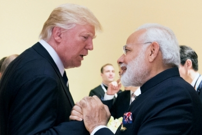 Trump hints at key announcement at 'Howdy Modi' rally