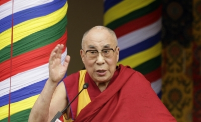 Dalai Lama supports global climate strike