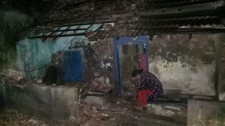 Woman Dies in Chennai As House's Wall Collapses Due to Rain