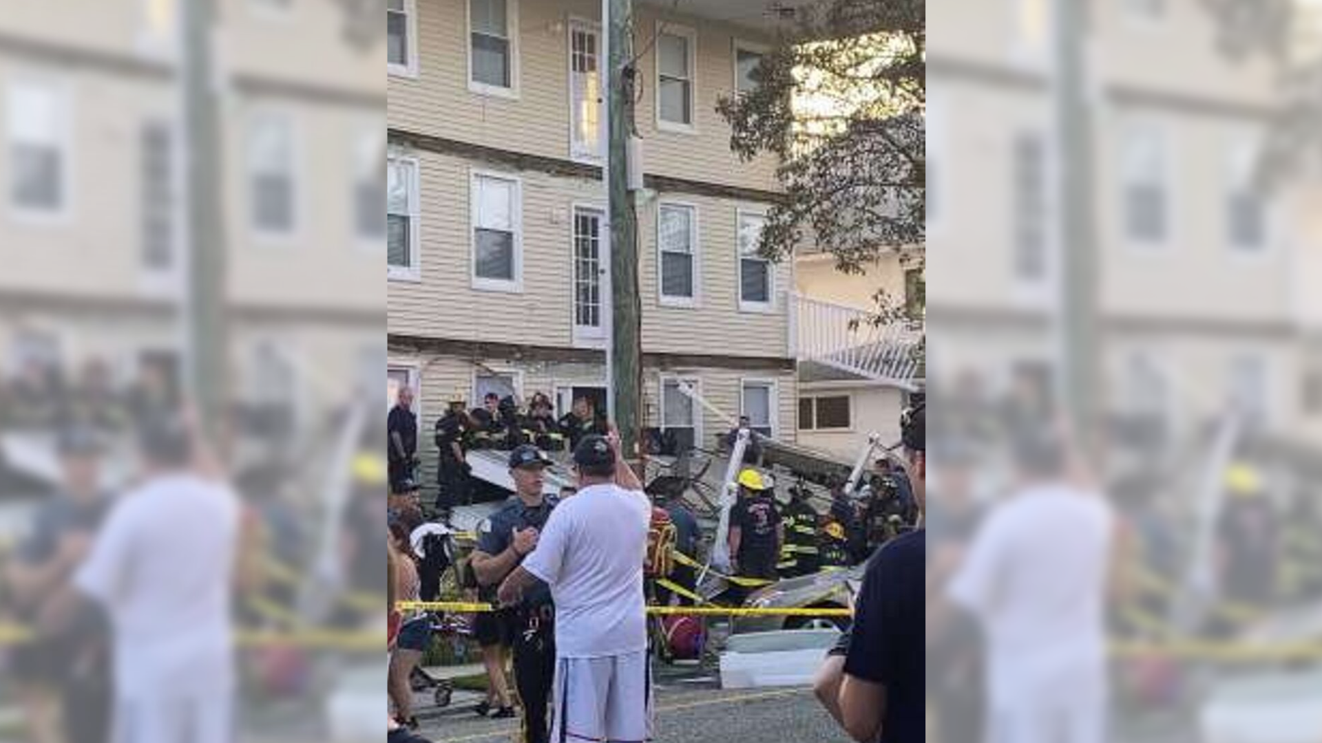 Decks Collapse During Jersey Firefighter event; At Least 22 Hurt