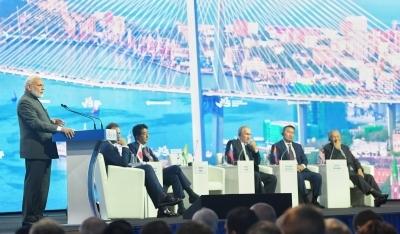Modi announces LoC of $1b for Russian Far East