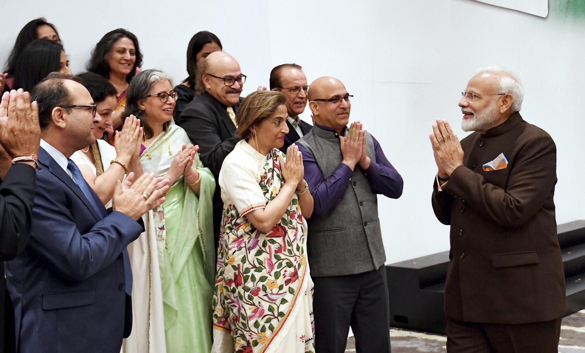 'We Will Build a New Kashmir': Modi to Kashmiri Pandits in Houston