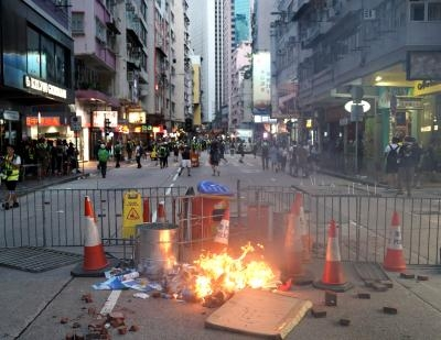 HK police group for using live ammunition on protesters