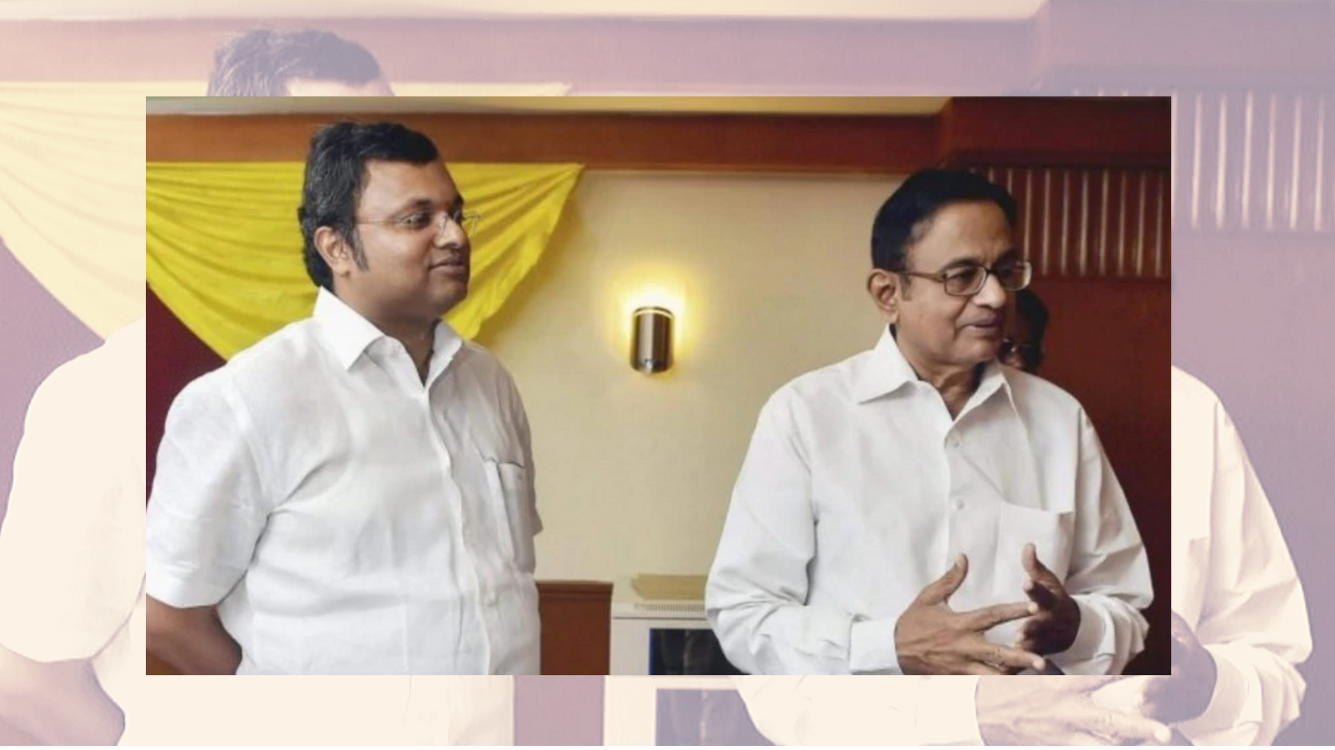'Wish You Were Back Home': Son Writes on Chidambaram's 74th B'Day