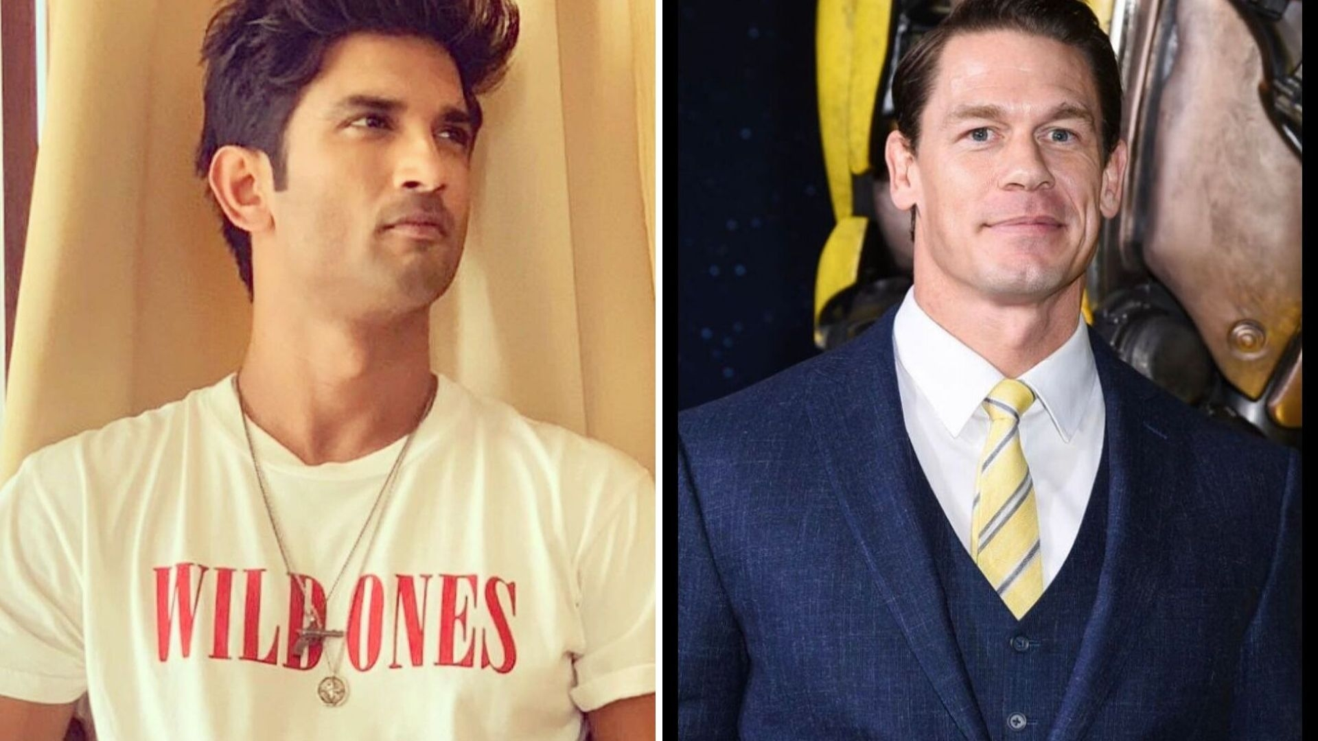 Sushant Makes It to John Cena's Insta! Fans Call It 'John Sena'