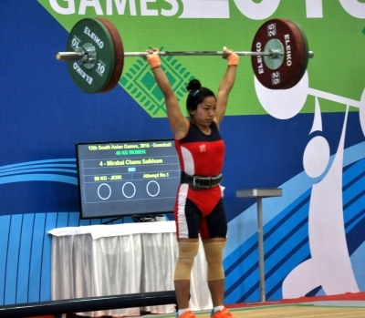 Chanu misses out on medal in World Weightlifting Championship