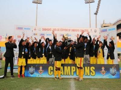 Hopewel Elias Higher Secondary School win Subroto Cup