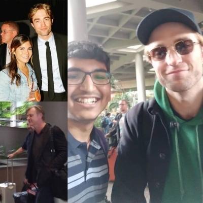Pattinson, Nolan in India to shoot for 'Tenet'