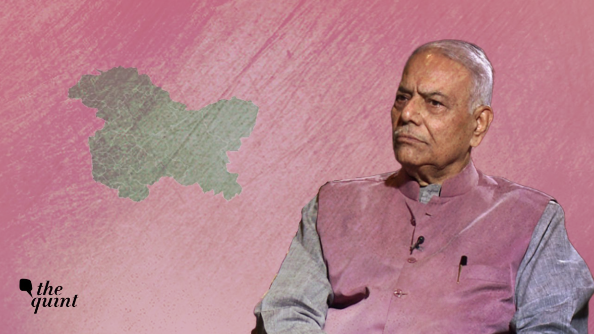 Govt Misleading on J&K: Yashwant Sinha Interview Post Srinagar Row