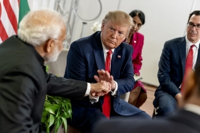 Trump hints at announcement during 'Howdy Modi'