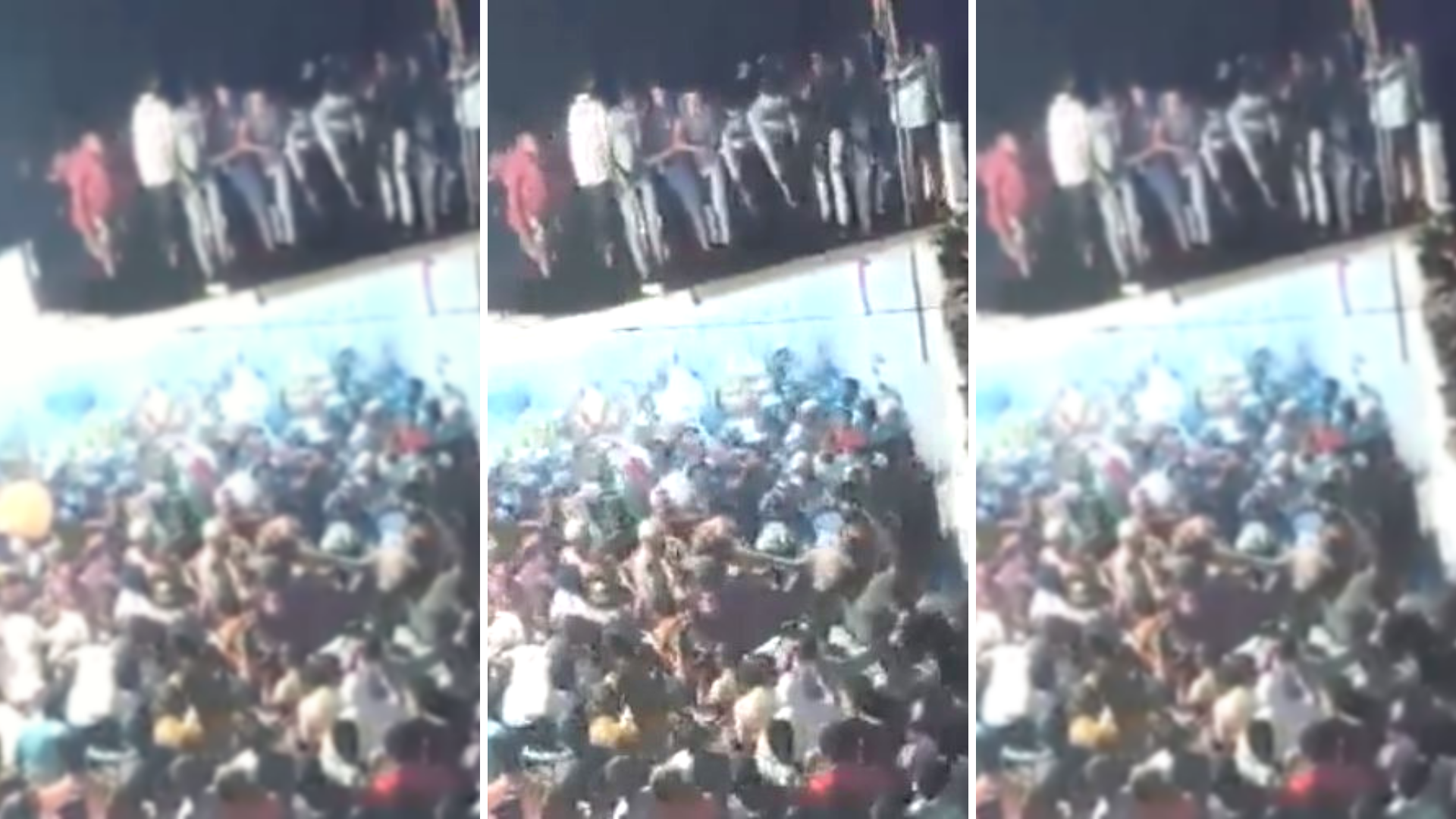 20 Injured as Roof Collapses During Muharram Procession in Andhra