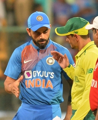 3rd T20I: Unchanged India bat first in Bengaluru