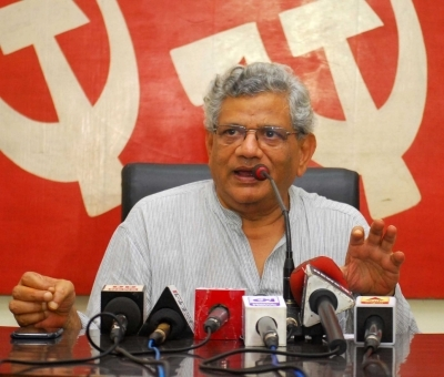 Yechury submits report on his Kashmir visit in SC