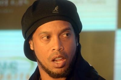 Ronaldinho named Brazil tourism ambassador despite travel ban