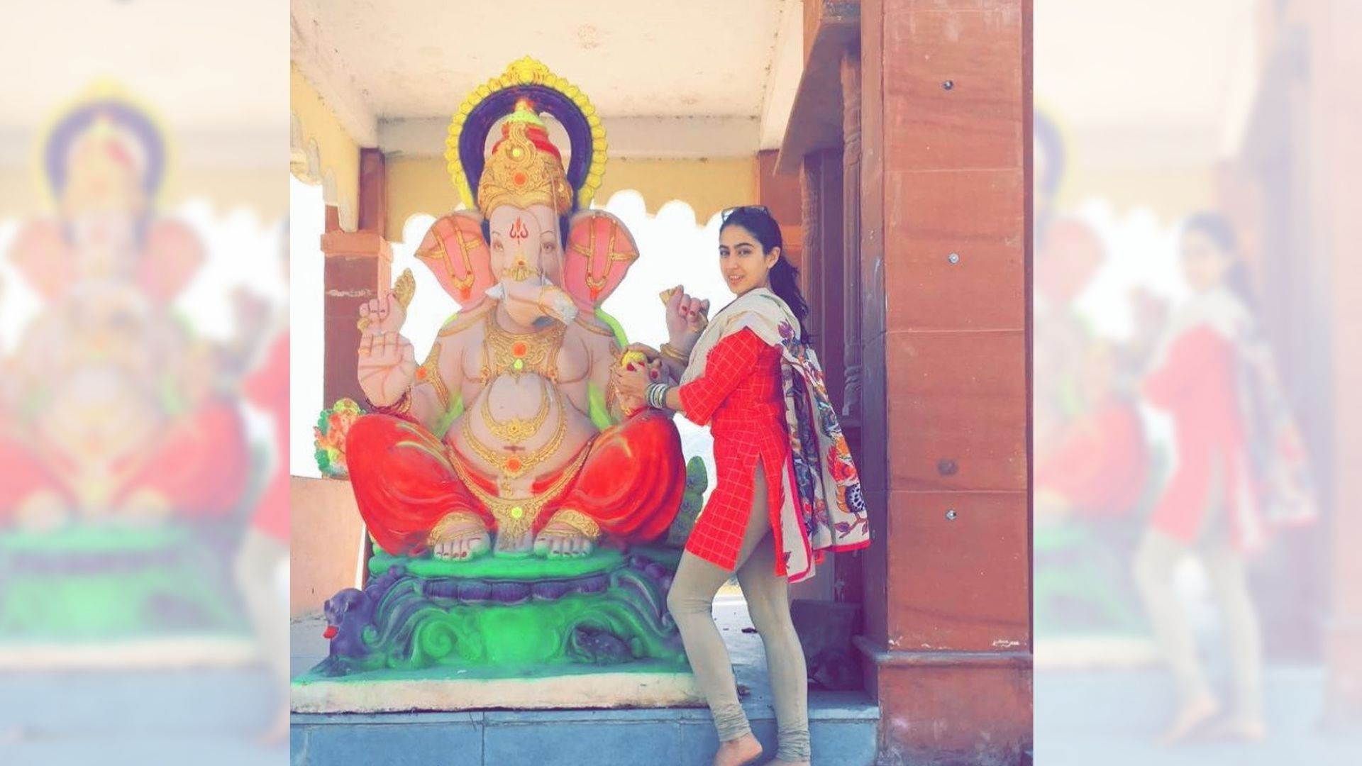 Sara Ali Khan Celebrates Ganesh Chaturthi, Trolled on Instagram