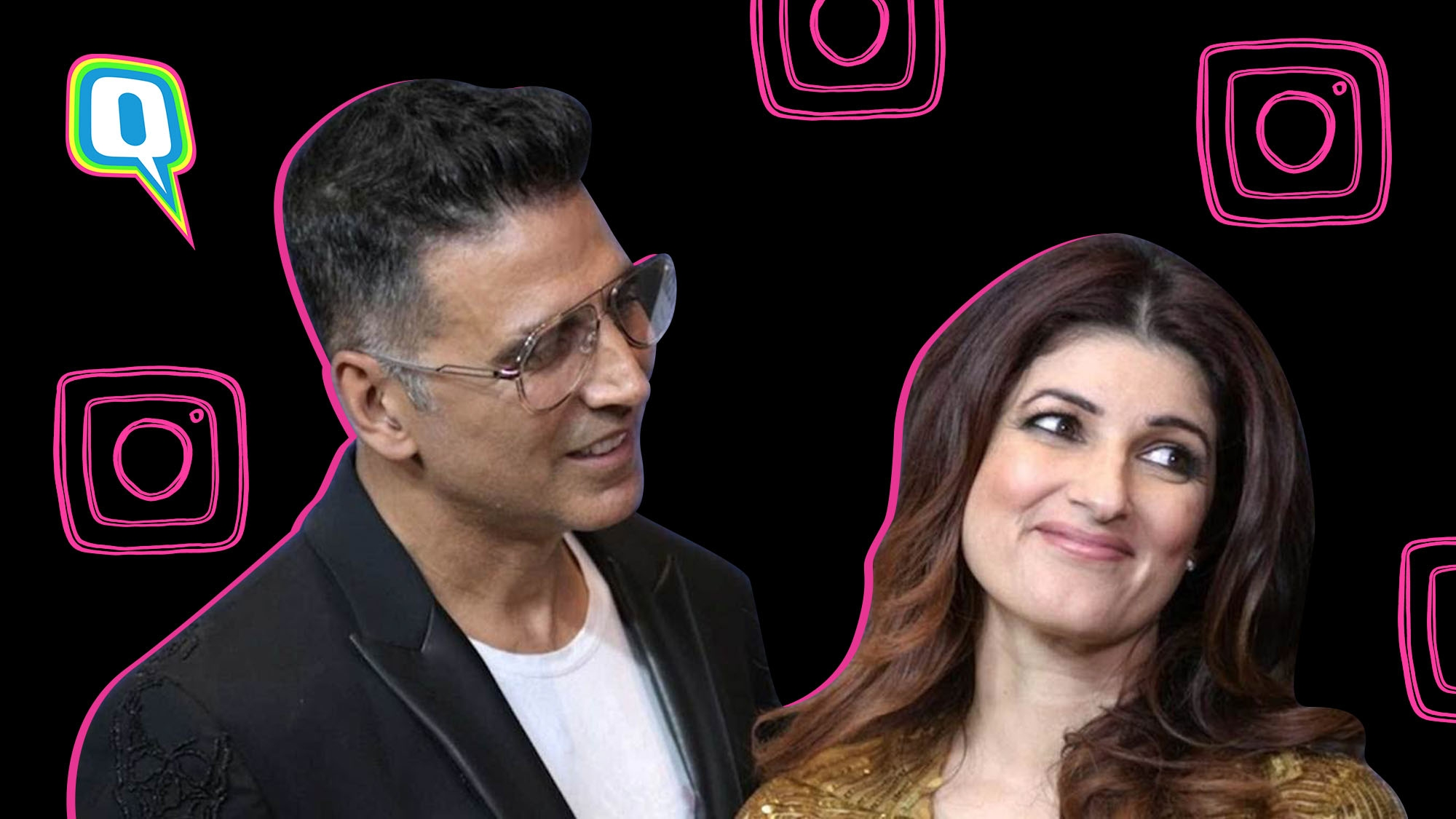Here's Why We Think Twinkle Khanna Handles Akshay Kumar's Insta