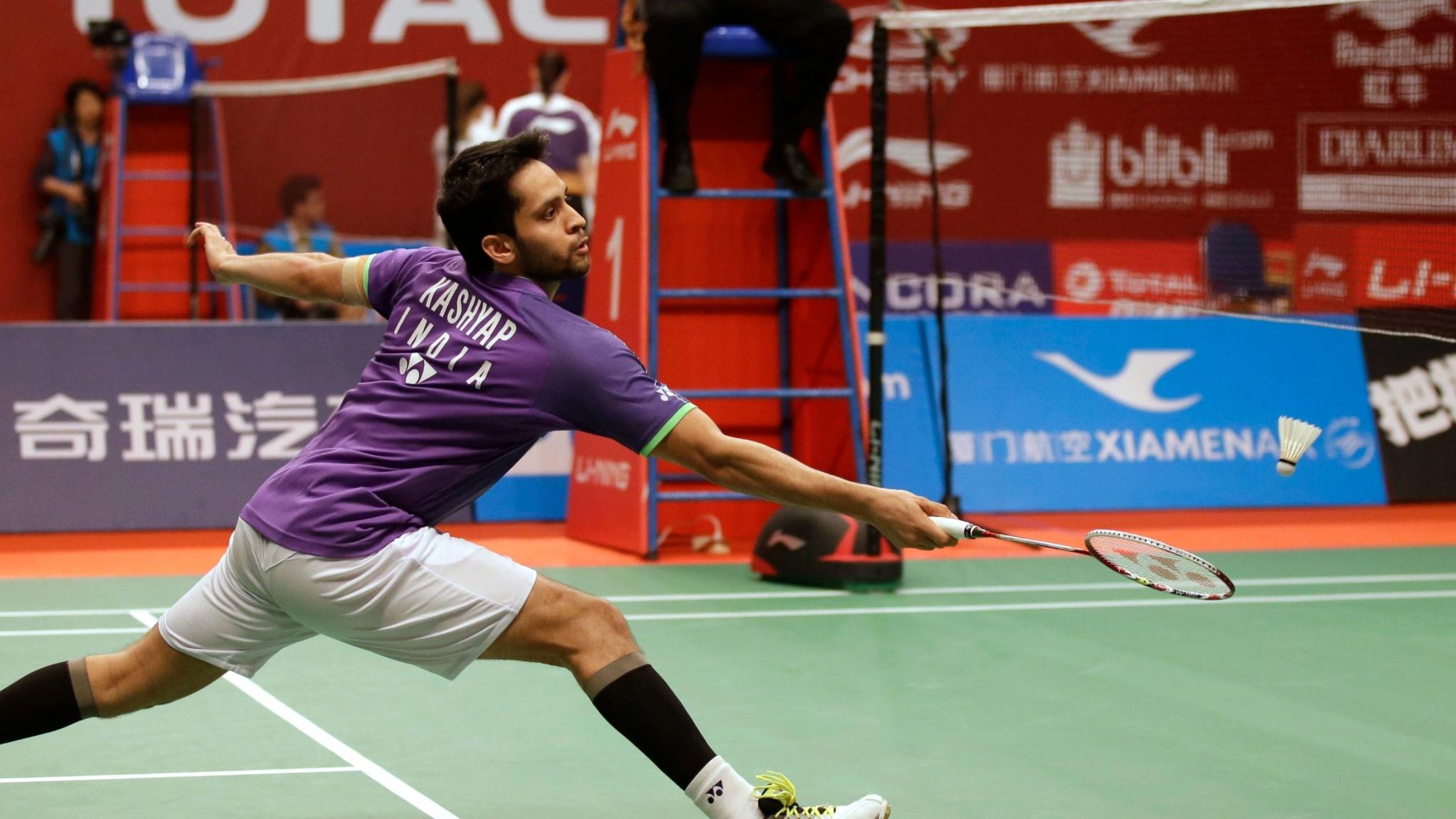 Parupalli Kashyap Exits Korea Open After S/F Loss to World No 1